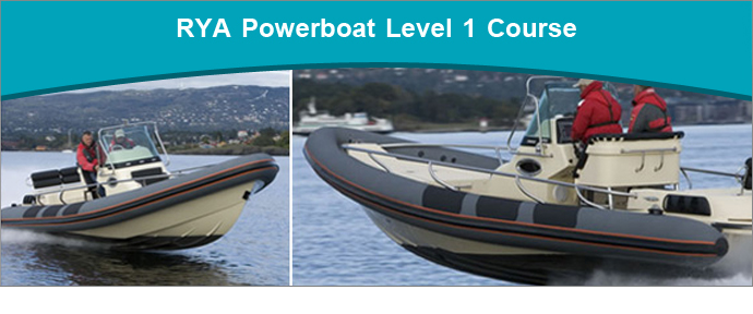 RYA Powerboat Level 1 Training course run by Saltwater RYA Powerboat Training Centre based in Christchurch, Dorset