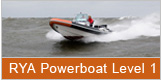 RYA Powerboat training Level 1