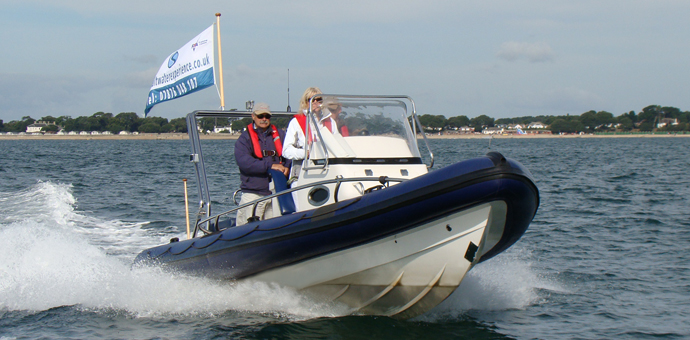 "Saltwater Experience second super-RIB ""Styx"""